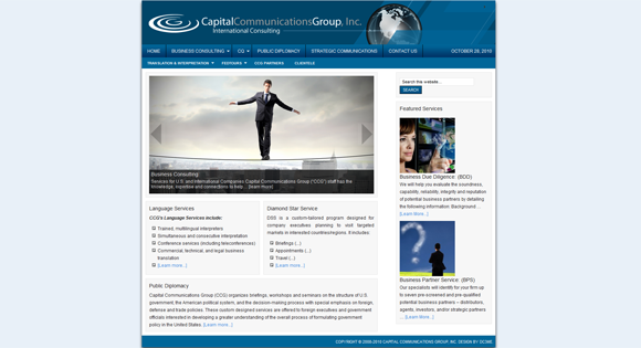 Capital Communications Group, Inc.